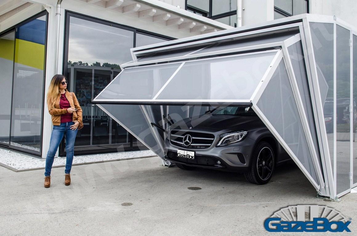 Gazebox Luxury Carport Carstorage Motorcycleshed Garage