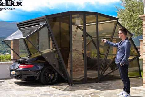 Gazebox Luxury Carport Carstorage Motorcycleshed Garage
