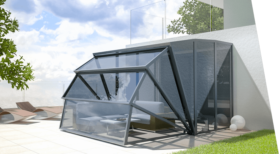Gazebox Wall Foldable Covering Shelter For Your House