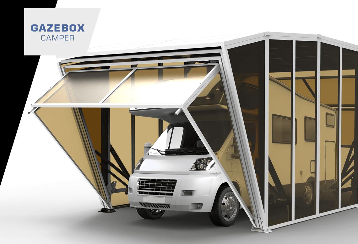 Garage Voor Camper : Gazebox camper foldable caravan carport garage storage